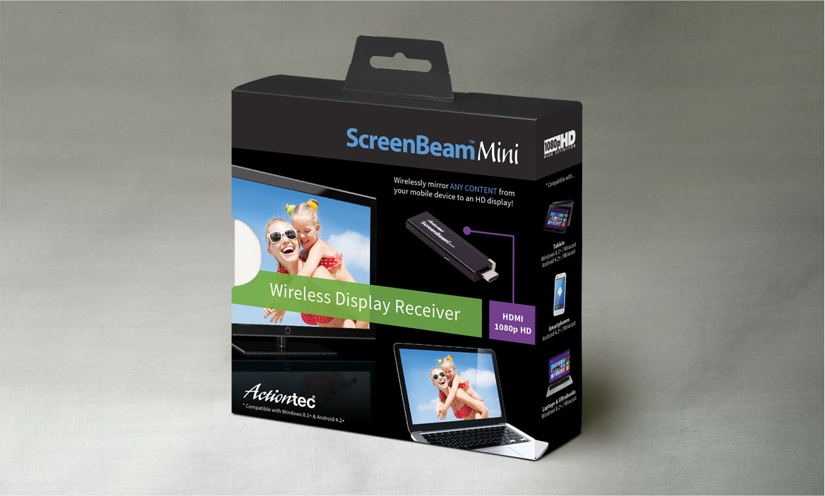 front of screenbeam package