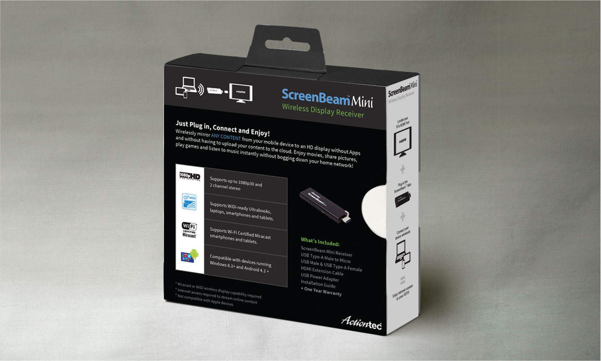 screenbeam packaging