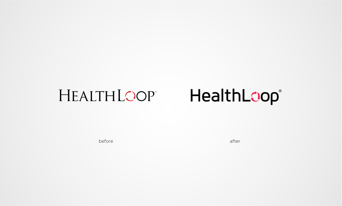 healthloop logo design