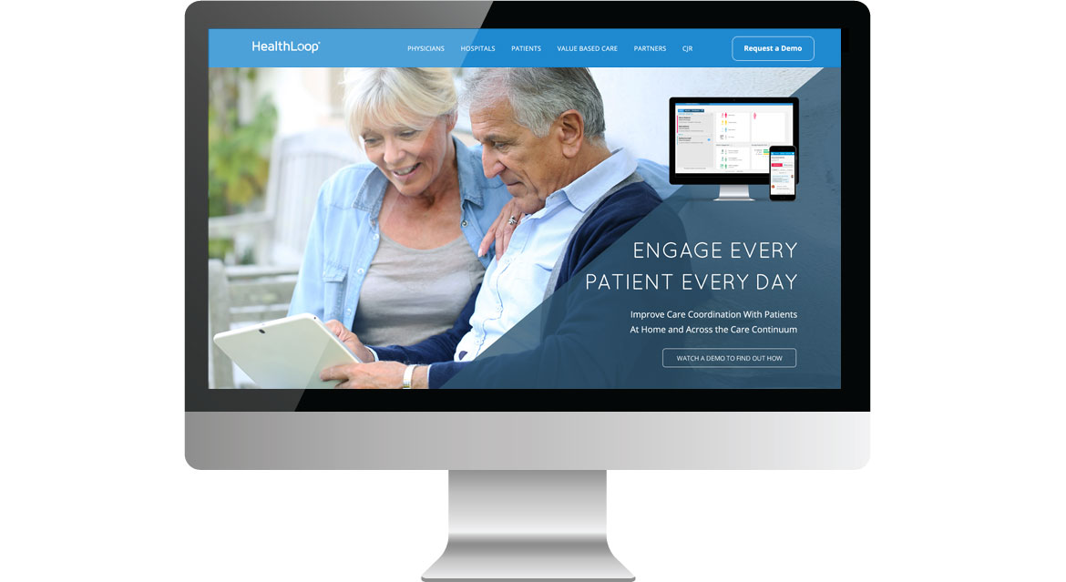 healthloop homepage