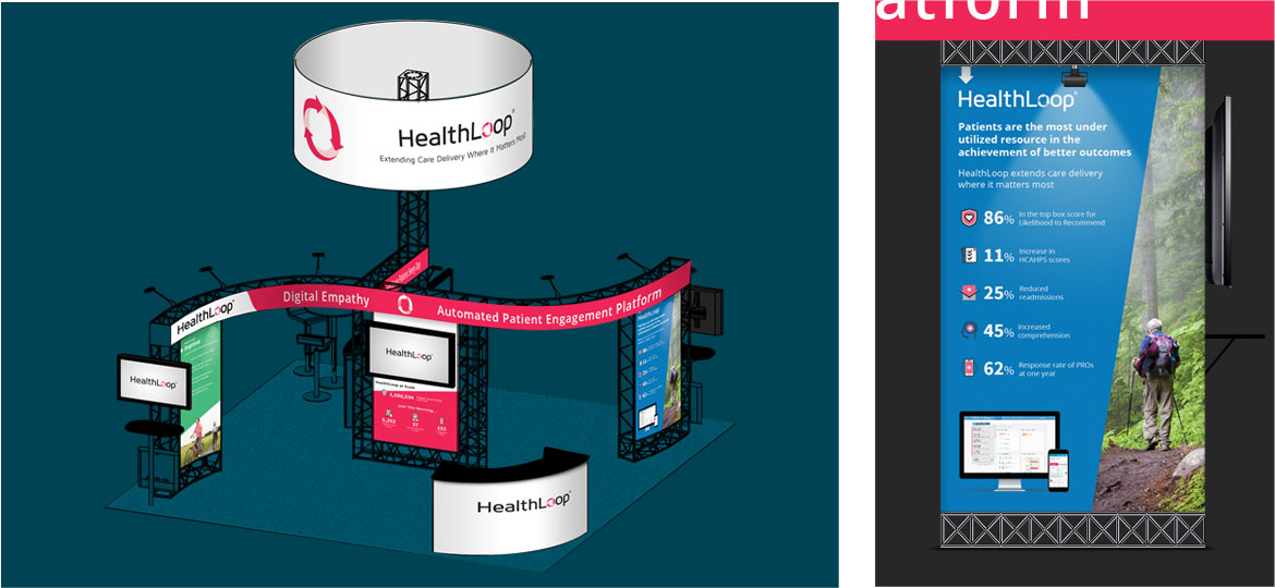 healthloop booth design