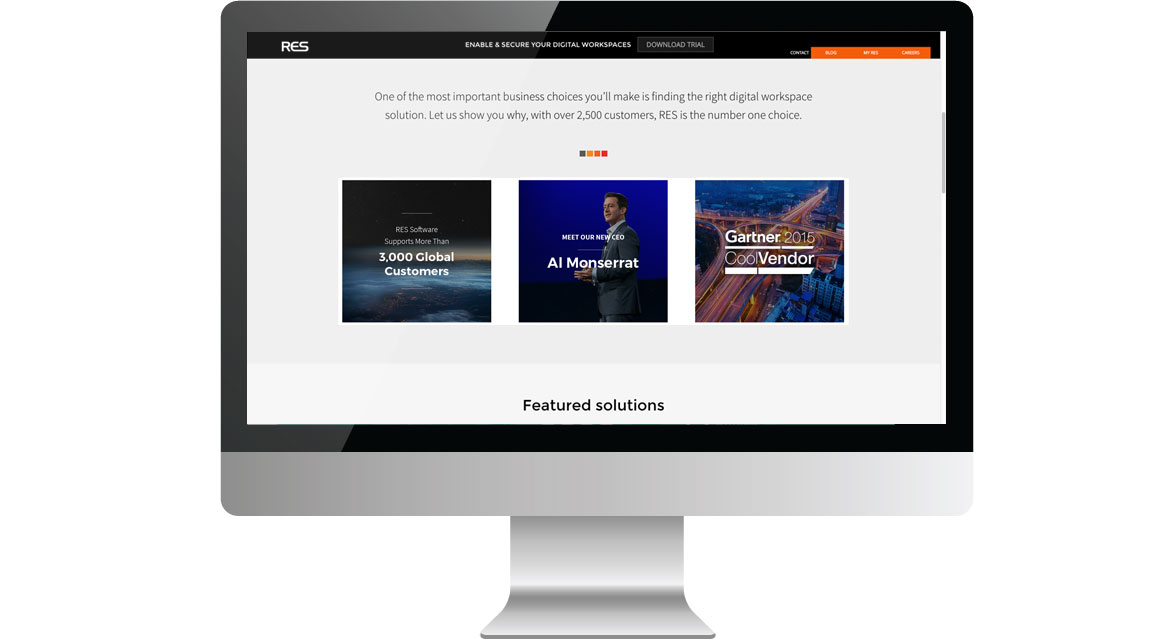 res homepage