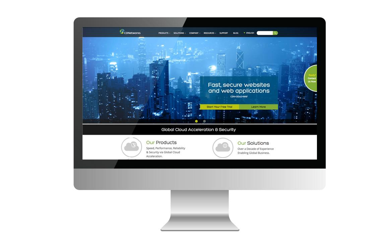 cdnetworks homepage design