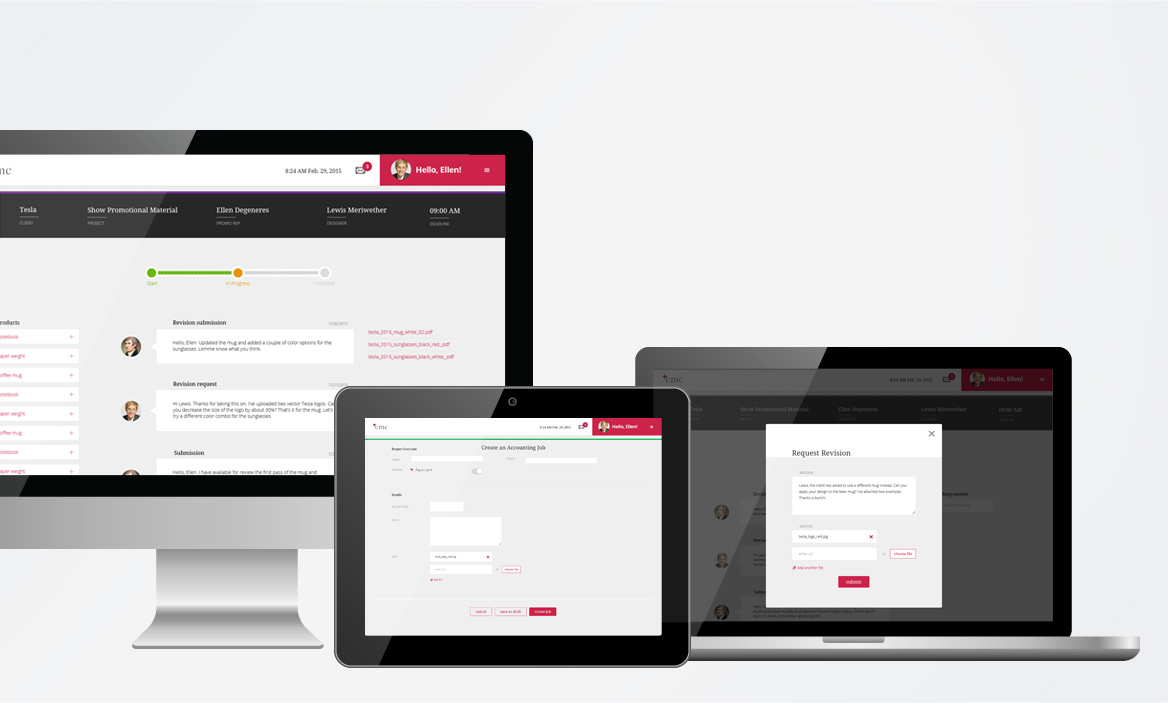 CMC webpage design