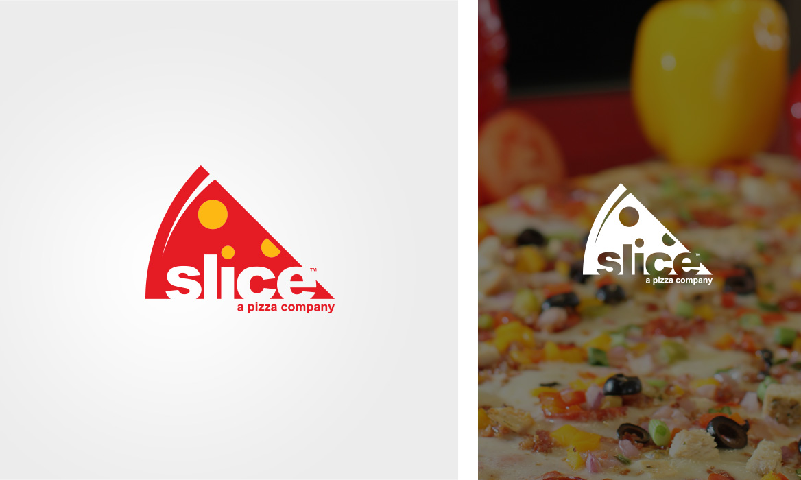 slice logo design