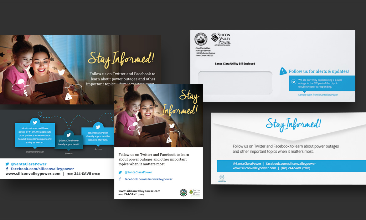 svp paper mail and email design